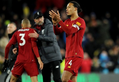 Rekor Terhenti, Watford Buat Liverpool kembali Menginjak Bumi