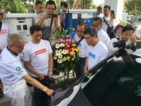 PLN Hadirkan Stasiun Pengisian Kendaraan Listrik Umum di Surabaya