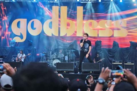 Energi Tak Ada Habisnya dari God Bless di Jogjarockarta 2020