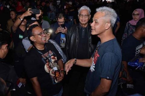 Gubernur Ganjar Pranowo Hadir ke Jogjarockarta Demi Whitesnake