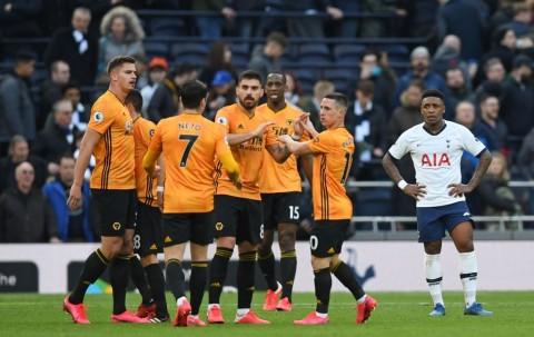 Tottenham Dipermalukan Wolverhampton di Kandang