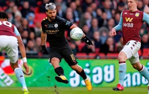 Kalahkan Villa, City Raih Trofi Piala Liga Inggris Ketiga Secara Beruntun