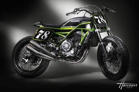 Kawasaki Z650 Flat Tracker Tampil Keren ala MRS Oficina