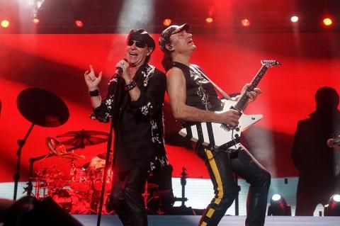 Scorpions dan Whitesnake Puaskan Penonton JogjaROCKarta