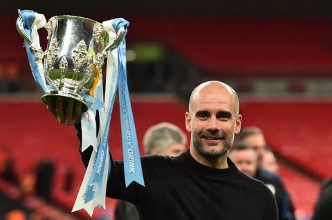 City Juara Piala Liga, Guardiola Koleksi 29 Trofi