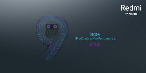 Redmi Note 9 Bakal Diperkenalkan per 12 Maret 2020