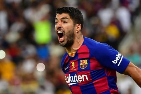 Suarez Dukung Niat Barcelona Boyong Lautaro Martinez