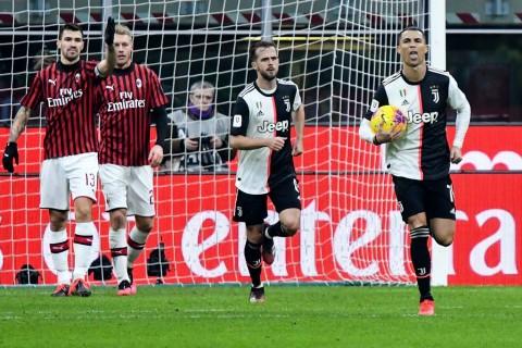 Tak Terdampak Korona, Semifinal Coppa Italia Juventus vs AC Milan Berjalan Sesuai Rencana