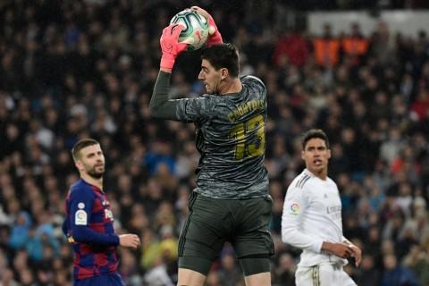 Courtois Paparkan Kunci Kemenangan Real Madrid di El Clasico