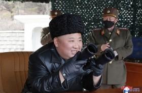 Korea Utara Uji Coba Artileri Jarak Jauh