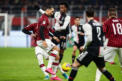 Otoritas Turin Tunda Laga Semifinal Coppa Italia Juventus vs AC Milan