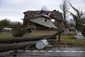 23 Tewas saat Tornado Hantam Wilayah Tennessee
