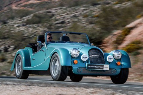 Morgan New Plus Four, 'Adopsi' Mesin Turbo BMW
