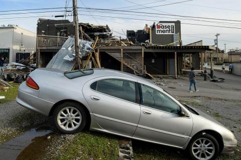Tornado Terjang Tennessee, 25 Orang Tewas