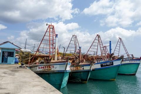 KKP Amankan 5 Kapal Asing di Natuna