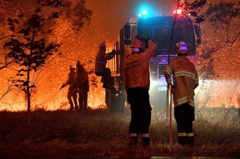 Berkobar 8 Bulan, Kebakaran Hutan NSW Australia Padam
