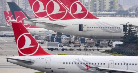 Penumpang Terinfeksi Korona, Pesawat Turkish Airlines Dilarang Terbang
