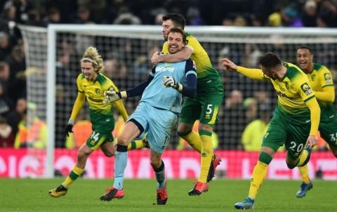 Lewat Adu Penalti, Tottenham Disingkirkan Norwich
