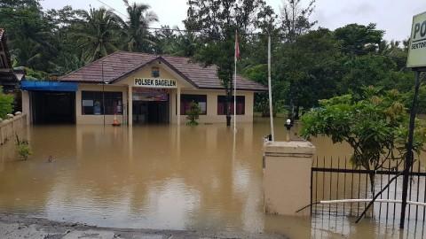 Banjir Rendam Dua Kecamatan di Purworejo