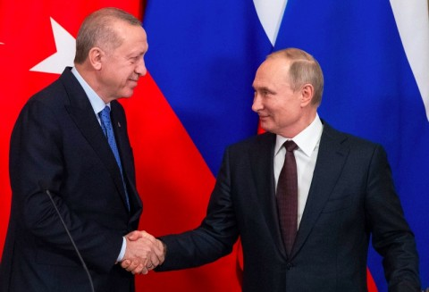 Erdogan dan Putin Umumkan Gencatan Senjata di Idlib
