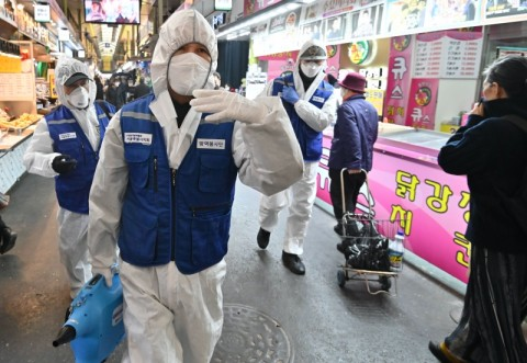 Jepang Dikecam Korsel Terkait Karantina Terinfeksi Virus Korona