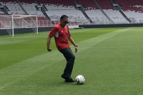 Ketum PSSI Tinjau Kesiapan SUGBK sebagai Venue Piala Dunia U-20