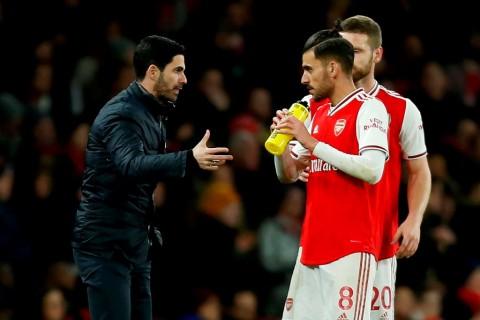 Arsenal Belum Belum Tentukan Masa Depan Ceballos
