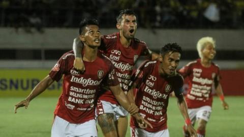 Bali United Redam Barito Putera