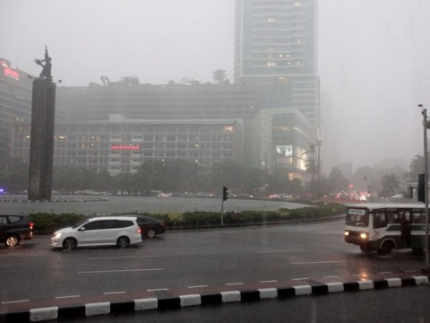 Hujan Diprediksi Guyur Jakarta di Akhir Pekan