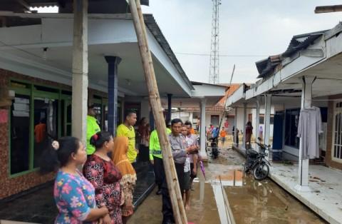 Belasan Rumah di Sumenep Rusak Diterjang Puting Beliung