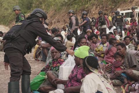 Pengungsi Akibat Teror KKB di Tembagapura Mencapai 900 Orang