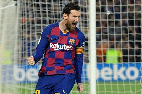 Penalti Messi Bawa Barcelona Menang Atas Sociedad