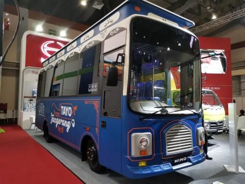 Tayo si Bus Mungil Ternyata Ada di Tangerang