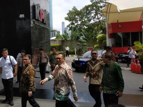 Pimpinan MPR Bertandang ke KPK