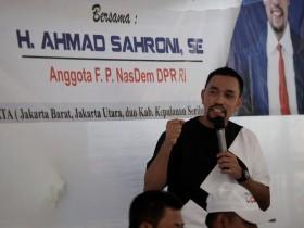 Ahmad Sahroni Ajak Pengusaha Siapkan CSR Basmi Wabah Korona