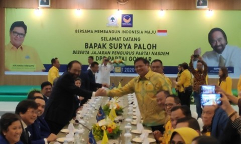 NasDem, Golkar to Support Competent Candidates in 2020 Local Elections