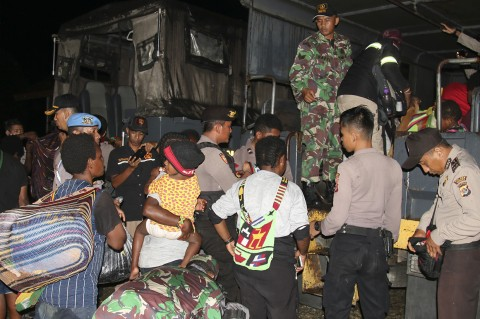 1.572 Orang Dievakuasi dari Tembagapura Akibat KKB