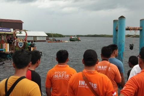 Lima Penumpang Tabrakan Kapal di Sebangau Tewas