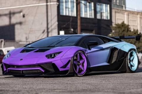 Intip Lamborghini Aventador SV Modifikasi Chris Brown