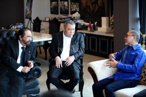 Surya Paloh Terima Kunjungan Ketua Umum PAN
