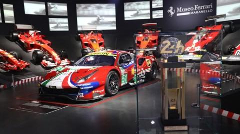 Gara-Gara Korona, Ferrari Tutup Museum