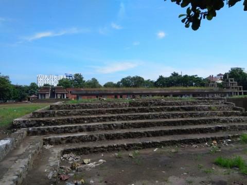 Revitalisasi Alun-alun Kejaksaan Cirebon Masuk Tahap Akhir