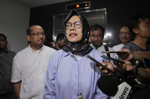 Eks Dirut Pertamina Karen Agustiawan Bebas