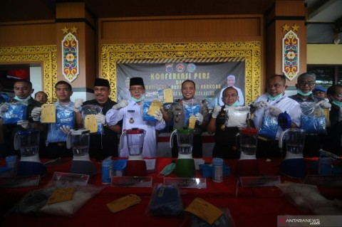 22,7 Kg Sabu Asal Malaysia Disita