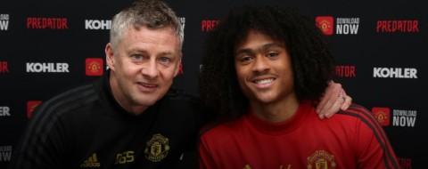 Tahith Chong Tambah Kontrak dengan Manchester United