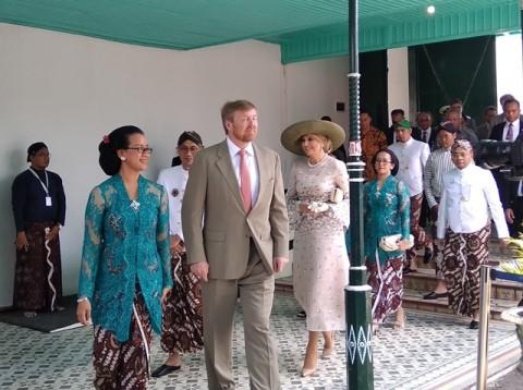 Dutch Royal Couple Visit Yogyakarta Palace