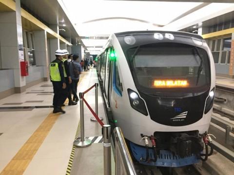 Operasional LRT Sumsel Sempat Terhenti 35 Menit