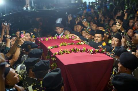 Kasatkornas Banser Dimakamkan di Tulungagung