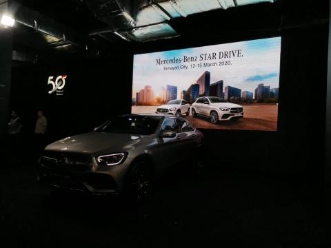 Lima Mobil Baru Mercedes-Benz Mengaspal di M-B Star Drive 2020