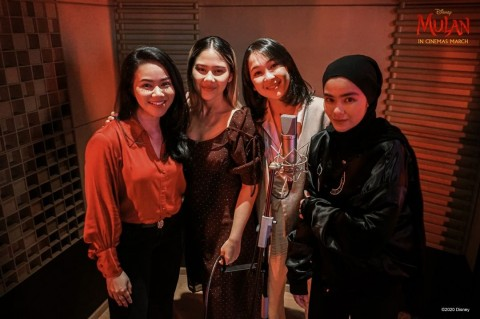 Kolaborasi Empat Musisi Indonesia di Lagu Soundtrack Film Mulan